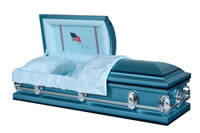 casket: Hilton Deluxe Old Glory