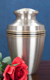 cremains placed in an urn